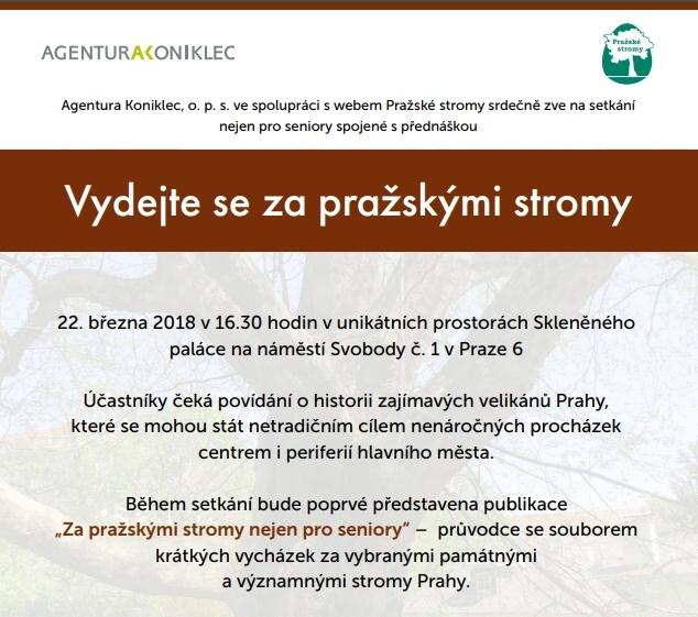 Přednáška – Vydejte se za pražskými stromy