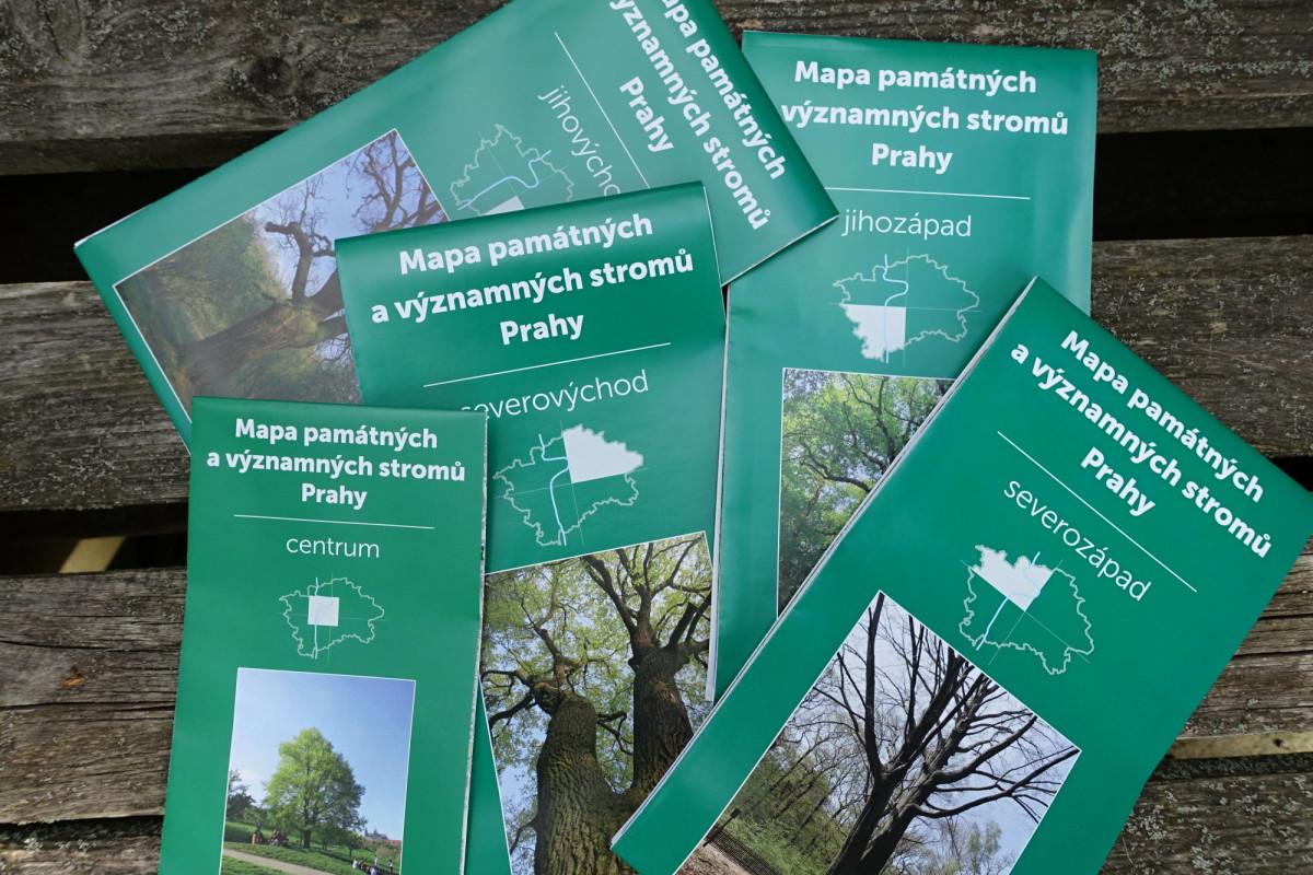 Vyzvedněte si zdarma mapy památných a významných stromů Prahy